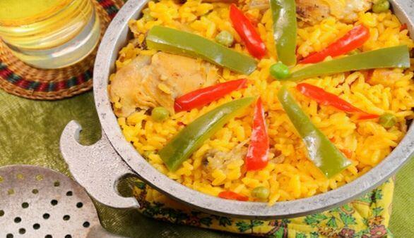 Kubanische Mahlzeit