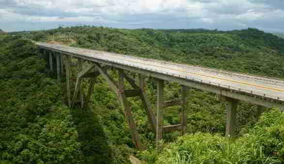 Bacunayagua Brücke in Matanzas