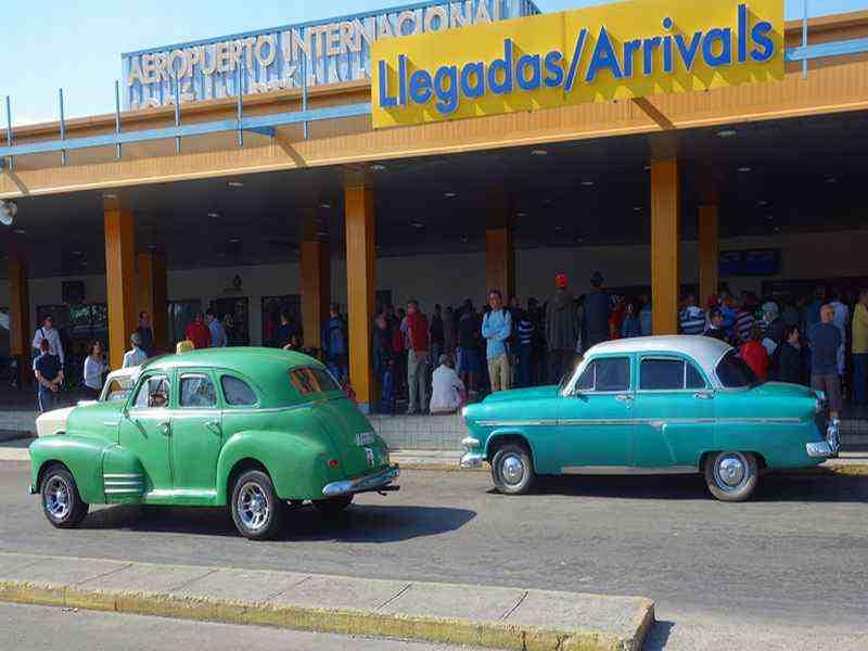 Flughafen auf Kuba