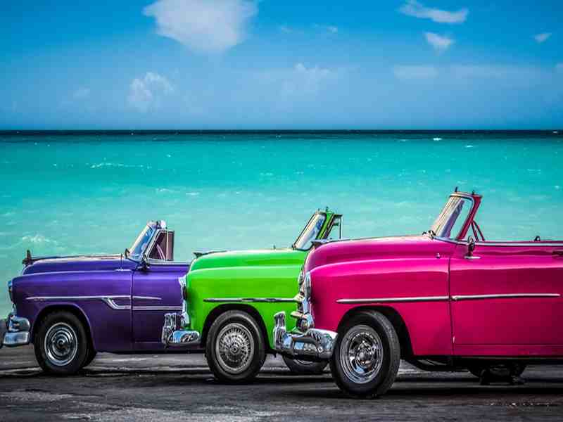 Transport auf Kuba